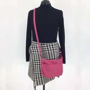 Dion Fashion Collection Pink Crossbody Purse